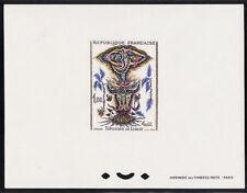 épreuve de luxe timbre France  tableau  tapisserie de Lurcat 1966 num: 1493