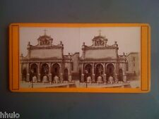 STC009 Italie Rome Fontaine Pauline stereoview photo STEREO