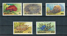 Barbados 1985 Fauna marina Yvert 614 - 18  MNH
