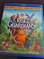 Rise of the Guardians (Blu-ray/DVD, 2013, 2-Disc Set) no digital copy