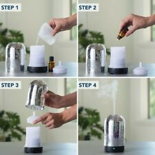 Mercury Glass Ultrasonic Essential Oil Diffuser