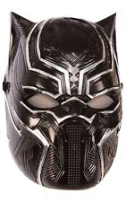 Rubie's 39218ns Marvel Avengers Black Panther Deluxe Child's Mask Costume