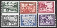 Germany Third Reich Mi# 773-778 Postal Service 1941 MH *