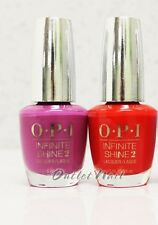 OPI Infinite Shine Set: CHOOSE 2 Colors 0.5 oz Kit Nail Lacquer