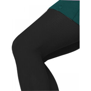 """Womens Opaque Tights """"Helanko"""" 40DEN Knitted Ribbed S M L"""