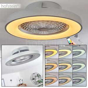 LED Decken Lampen Ventilator Sprachsteuerung Wohn Schlaf Zimmer Küchen Leuchten