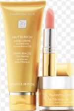 Nutrimetics Face & Hand Set,Hand Creme Nutri rich oil & lip treatment Rrp $101