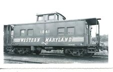 G115 RP 1950s? WESTERN MARYLAND RAILROAD CABOOSE #1841