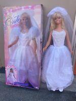 My Size BRIDE Barbie doll 3ft Tall Wear & Share 1994 Mattel