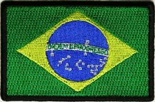 BRASILIAN - FLAG - IRON or SEW-ON PATCH