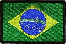 BRASILIAN - FLAG - IRON or SEW-ON PATCH