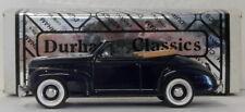 Durham 1/43 Scale DUR 33  - 1941 Chevrolet Deluxe Top Down Dark Blue