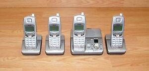 4 Vtech (MI6896) Mini Cordless Digital Spread Spectrum Phones w/Answering