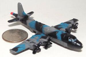 Small Micro Machine US Navy P-3 Orion Anti Submarine Warfare Aircraft /Dark Camo
