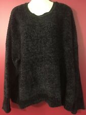 89TH + MADISON Women's Black Soft Knit Sweater - Size 2X - NWT