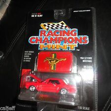 (1 of 19,997) Red 1964 1/2 FORD MUSTANG RACING CHAMPIONS MINT 1997 ISSUE #81