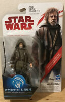 Star Wars Action Figure Luke Skywalker Jedi Exile Force Link Disney Hasbro NIB