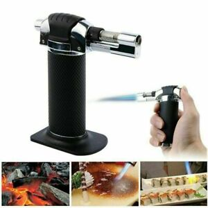 Butane Gas Blow Torch Refillable Lighter Welding Soldering Kitchen Chef Outdoor