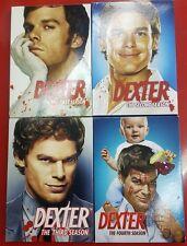 Dexter Complete Seasons 1-4 (DVD, Season 1, 2, 3, 4) - EUC       (A-0)