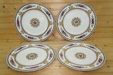 "Wedgwood W595 Columbia (4) Dinner Plates, 10 7/8"""