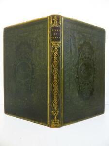 Beau Cartonnage Romantique Anglais VOYAGE TYROL J VON ISSER 41 PL CHATEAUX 1836