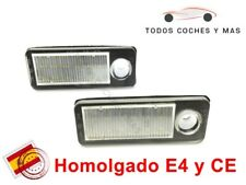 PLAFONES LED MATRICULA AUDI A6 AVANT C5 4B HOMOLGADO E4 CE LUCES LUZ ENVIO 24