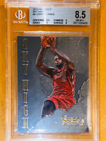 Pop 1!🔥2013-14 LeBron James PANINI SELECT CHROME SKY HIGH #8 BGS 8.5 PSA lakers