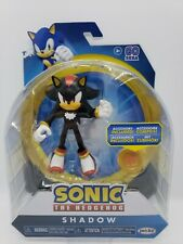 Sonic The Hedgehog Shadow Bendable With Super Ring Jakks New