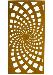 Privacy Screen 2x4', Privacy Panel, Art Panel, Modern Art, Outdoor Privacy