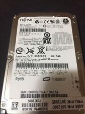 """Fujitsu MHW2080BH 80GB Internal 5400 RPM 2.5"""" HDD SATA"""