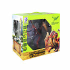 New World of Dinosaurs RC 3 Headed Dragon Toy (Purple)