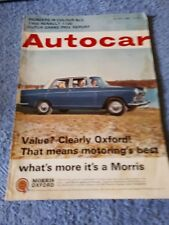 Autocar Magazine 23 July 1965 - Morris Oxford, Renault 110, Dutch Grand Prix Rep