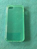 Handyhülle iPhone 📱 5 Grünlich/Weiß Neu&OVP