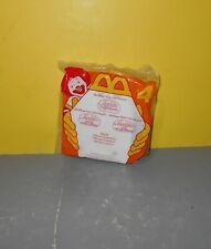 "1996 Iago 3"" McDonald's Action Figure Playset #4 Disney Aladdin Sealed NEW"