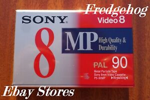 SONY P5-90 HIGH QUALITY Video8 / 8mm / Hi8 VIDEO CAMCORDER TAPE / CASSETTE