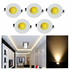 5x 3w LED petit coffret Mini Spot luminaire encastrable Downlight Kit plafonnier