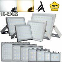 10W-500W LED Flood Light Spotlight Outdoor Garden Yard Lighting Security Lamp