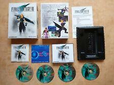 FINAL FANTASY VII 7    PC WIN 95/98      deutsch  USK 12 #