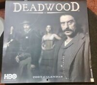DEADWOOD - HBO Official 2007 Calendar - Ultra RARE Collectable!