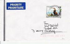 A_858 Bedarfsbrief von 2000 aus 6023 Innsbruck nach Merseburg