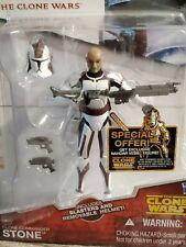 Star Wars The Clone Wars ARC Clone Trooper Commander Stone CW 44