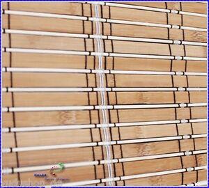 Store Roulant Faltbehang Protection Solaire Bambou Bois