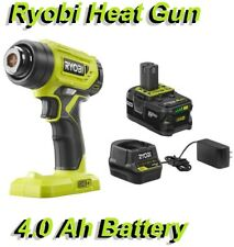 Ryobi P3150 18V ONE+ Lithium-Ion Cordless Heat Gun with 4.0 Ah Battery + Charger