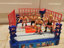 Wcw Galoob wrestling Ring and figure bundle. Rick rare retro wwf wwe