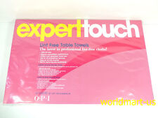 OPI EXPERTTOUCH Lint Free Table Towels Expert Touch 45 Sheets Lint-Free