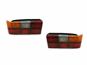 Left & Right Volvo 240 244 Tail Lights. Fits 85-93 Blk Trim