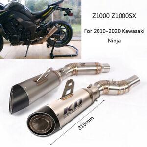 For Kawasaki Z1000 2010-2020 Z1000SX Ninja 1000 Motorcycle Exhaust Pipe 51mm Tip