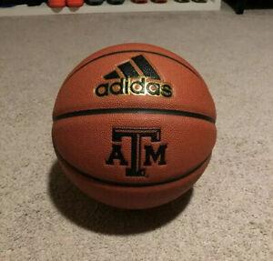 Official Adidas Pro NCAA Texas A&M Game Ball Spalding Basketball Men's 29.5 NEW