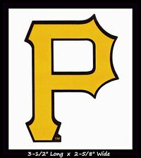 PITTSBURGH PIRATES BASEBALL MLB DECAL STICKER TEAM LOGO~BUY 1 GET 1 30% OFF