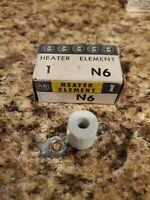 Allen Bradley N Style Heaters Overload Relay elements N6